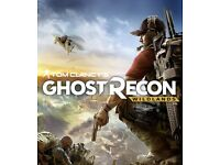 Pc - New- Ghost recon wildlands or For Honor digital code RRP 39