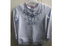 Girls sweatshirt 7-8