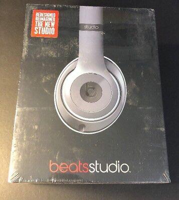 Beats Dr Dre Studio 2 con Cable Cascos Auriculares [Metálico Azul Cielo...