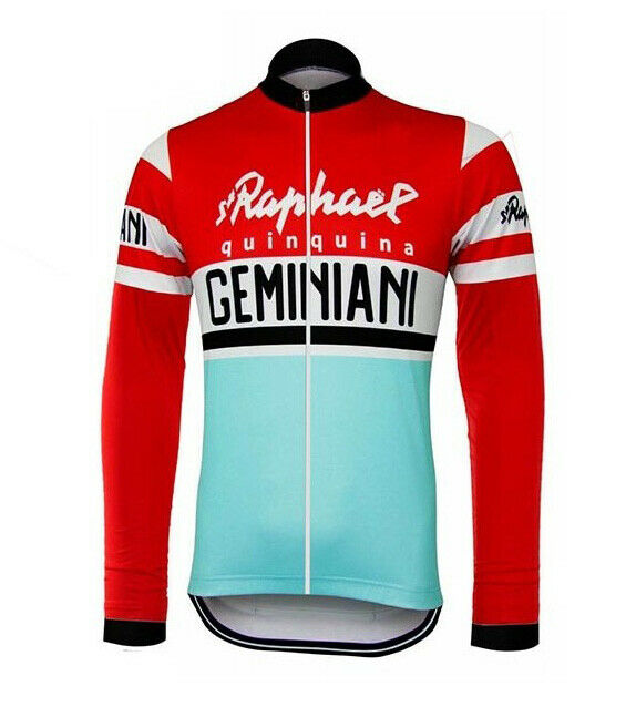 Saint Raphael Geminiani Retro Cycling Jersey Long Sleeve