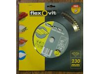 Flexovit pro 230mm Disc Cutter Rrp £45