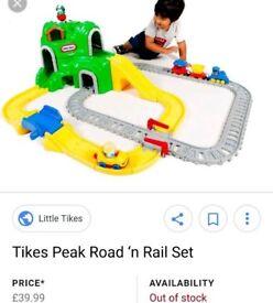 Little tykes road n rail