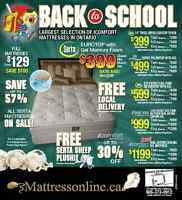 Super Savings on your new mattress, bedroom set,Bunk beds