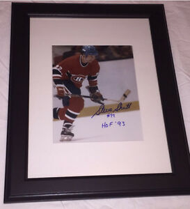 Steve Shutt Autographed Montreal Canadiens 8x10 Framed