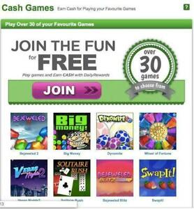 Play Games and Earn Cash on a Daily Basis!!