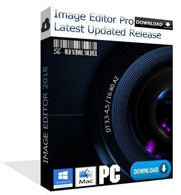 Latest 2018 Image Editor Pro Photo Editor Painter Software Pc   Mac  Download