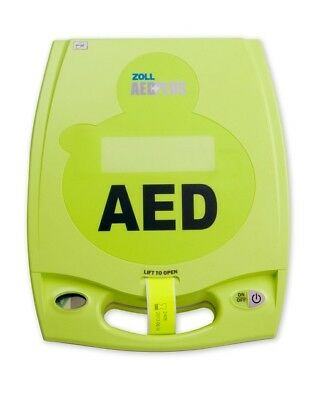 Zoll Aed Plus Semi-auto- New Cpr-d Padz Biomed Recertified 4-yr Warranty
