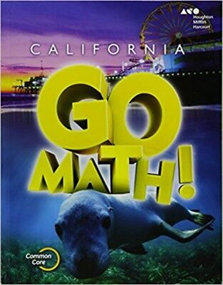 Grade 1 California Go Math Student Edition Worktext 1St