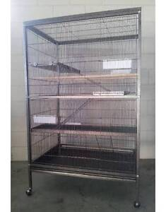 New Deluxe 3 Level Bird Parrot Cat Kitten Ferret cage * ED07-T Thomastown Whittlesea Area Preview