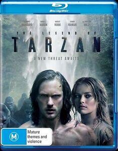 THE LEGEND OF TARZAN BLU-RAY, NEW & SEALED, REGION B, FREE POST