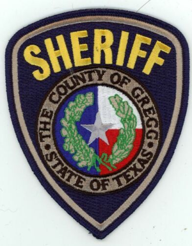 TEXAS TX GREGG COUNTY SHERIFF NEW PATCH POLICE