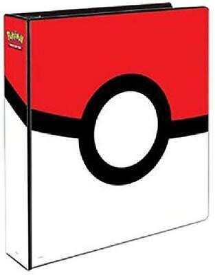 Pokemon Trading Card Album Poke Ball Ultra Pro Binder Portfolio Holder Protector