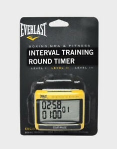 New Everlast Interval Training Round Timer Boxing MMA 7011
