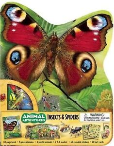 Animal Adventures: Insects & Spiders (Animal Adventures (Silver Dolphin)), Froeb