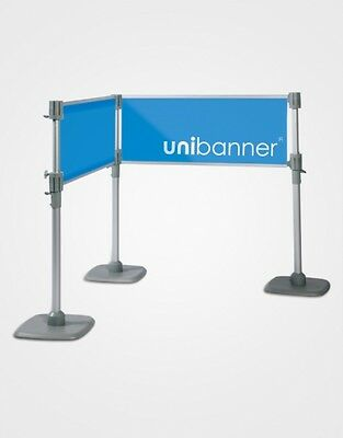 Tension Banner (Fabric Banner Tension Queue Custom Printed -Trade Display)