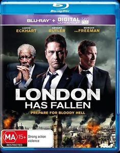 London Has Fallen (Blu-ray, 2016) New, ExRetail Stock (D142)