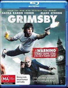 Grimsby (Blu-ray, 2016) New, ExRetail Stock (D140)