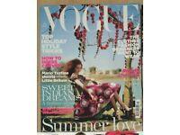 British VOGUE magazine collection 2005 - 2007