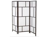 Ikea Risor room divider 3 panel