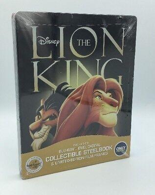 Lion King, The (Blu-ray+DVD+Digital, 2017; Only @ Best Buy Ltd. Ed. Steelbook)