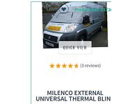 Milenco thermal windscreen covers for motor home - hardly used