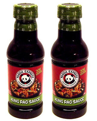 Lot Of 2 Panda Express Kung Pao Sauce 18 75 Oz  Bottle