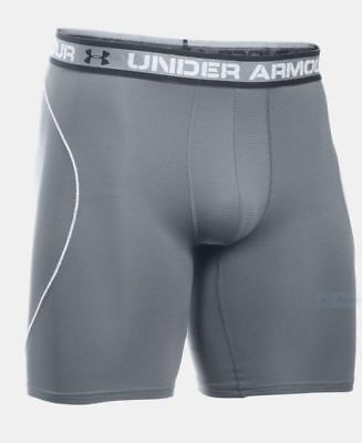 "Under Armour Men's Boxerjock Shorts, Medium, Gray 9"", Iso-Chill Mesh, New in box"