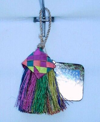 Parrot Pinata Bird Toys - Mini Brush Small Parrot Toy Shred Destroy Fair Trade