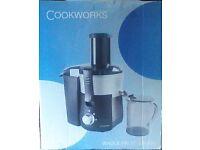 Cookworks Whole fruit Juicer, New boxed, unused £30.00