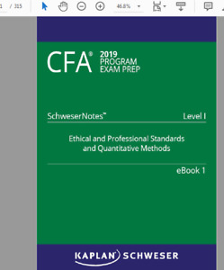 Cfa Level 1 Schweser Notes | Great Deals on Books, Used