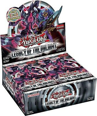 YuGiOh Legacy of the Valiant Booster Box [24 Packs] [Sealed]