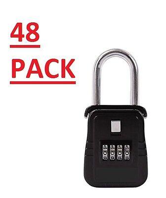 Pack Of 48 Lockbox Key Lock Box For Realtor Real Estate 4 Digit