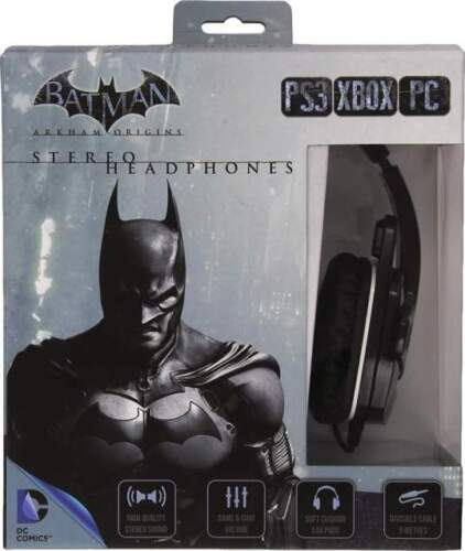 Cuffie Gaming Batman Arkham Origins PS3 / Xbox...