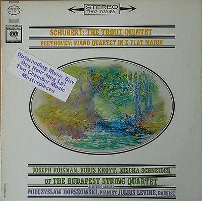 String Quartet Members (SCHUBERT / TROUT QUINTET - MEMBERS OF BUDAPEST STRING QUARTET - COLUMBIA)