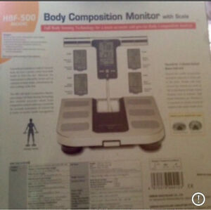 NEW IN BOX Omron Body Composition Monitor with Scales Fitzroy North Yarra Area Preview