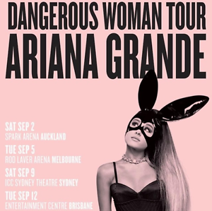 ARIANA GRANDE TICKETS! I HAVE G.A STANDING! Berkeley Vale Wyong Area Preview