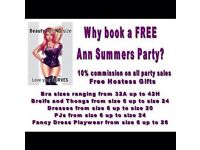 Book your Ann Summers Party Today