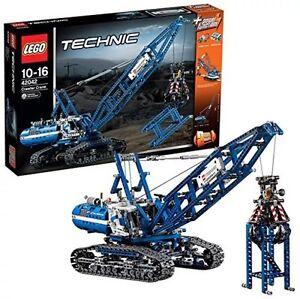 LEGO 42042 TECHNIC Crawler Crane Mobile Tower Crane Power Functions SEALED NEW!