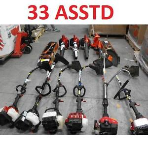 33 ASSTD POWER TOOLS LOT - 119896877 - EDGER TRIMMER BLOWER LAWN CARE GRASS MAINTENANCE SEE COMMENTS