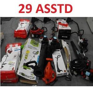 29 ASSTD POWER TOOLS LOT - 119594032 - EDGER TRIMMER BLOWER LAWN CARE GRASS MAINTENANCE SEE COMMENTS
