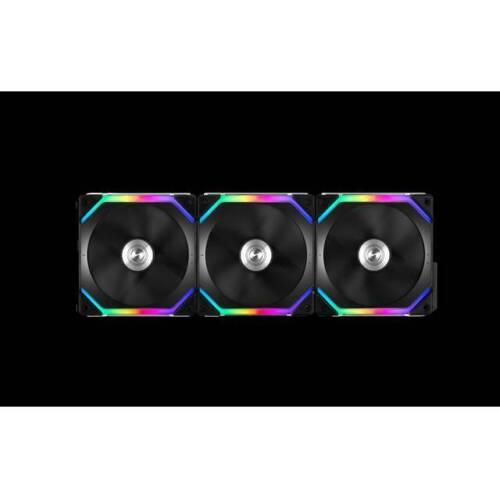 Lian Li UNI FAN SL120 3 Pack Black with Controller 120mm LED US SELLER