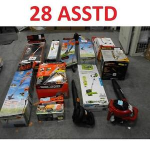 28 ASSTD POWER TOOLS LOT - 119733089 - EDGER TRIMMER BLOWER LAWN CARE GRASS MAINTENANCE SEE COMMENTS