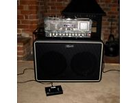 Vox Night Train NT50 Amp Head plus Vox V212NT Speaker Cabinet with Vox VFS2A Footswitch