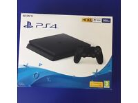BRAND NEW PS4- UNOPENED- WITH SEAL