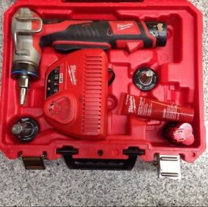 Milwaukee M12 expansion tool and extra batteries