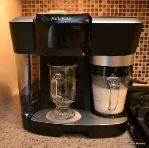 Keurig espresso and milk frother