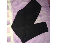 Women's Black Skinny Jeans/Jeggings UK Size 10