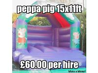 Bouncy castle,disco dome,inflatable slides,soft play and nightclub hire