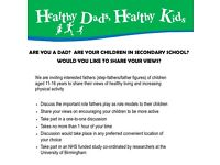 Fathers Needed For Research Study