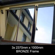 XL MIRRORS Framed - 3x 2370 x 1000 - GYM STUDIO DANCE FITNESS Penrith Penrith Area Preview